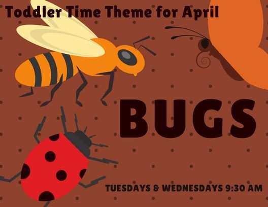 Toddler Time - April Themes 2018